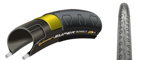 Continental Super Sport в разрезе