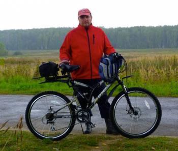 прогулка на двухподвесном велосипеде