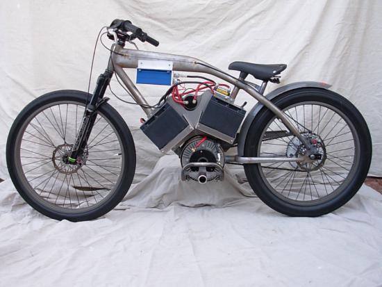 велосипед с цепным электроприводом