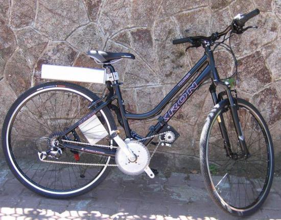 велосипед с элетроприводом