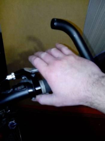 перемещение пальцев