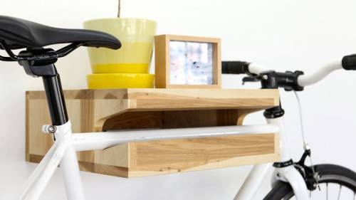 Bike Shelf от Knife & Saw