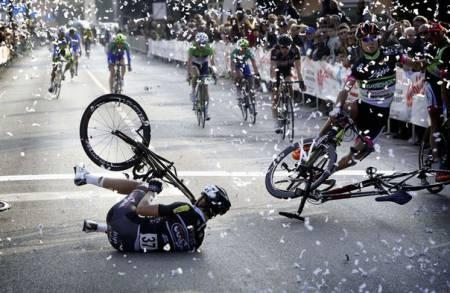 финиш велогонки