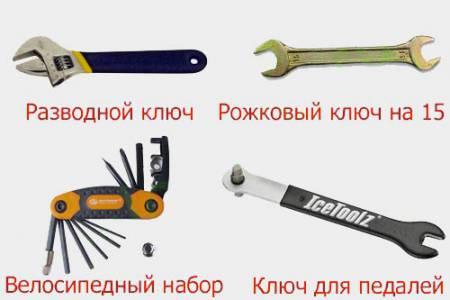 виды монтажных ключей