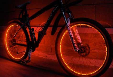 LED-полоса на колёсах