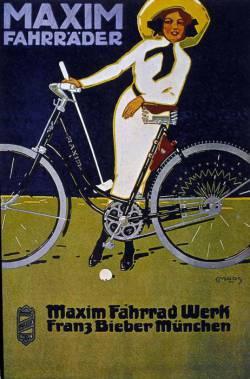 реклама байка (середина XX века)