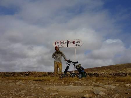 велопутешествие в Африке на Стриде