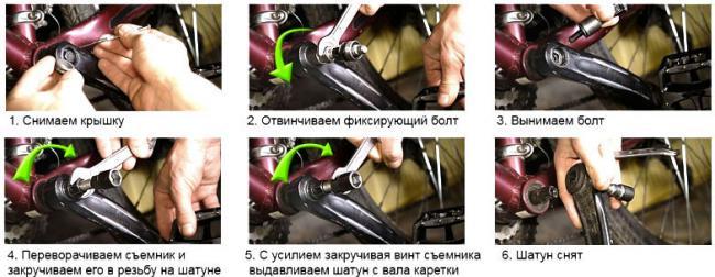пошаговая фото-инструкция демонтажа