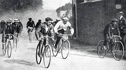 первая велогонка