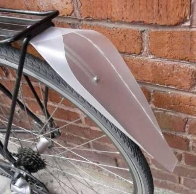 самодельные велокрылья из пластика