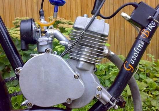 самодельный байк с мотором