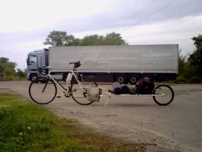 большой велоприцеп