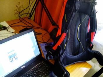 рюкзак с системой проветривания