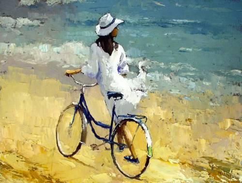 велопрогулка вдоль моря