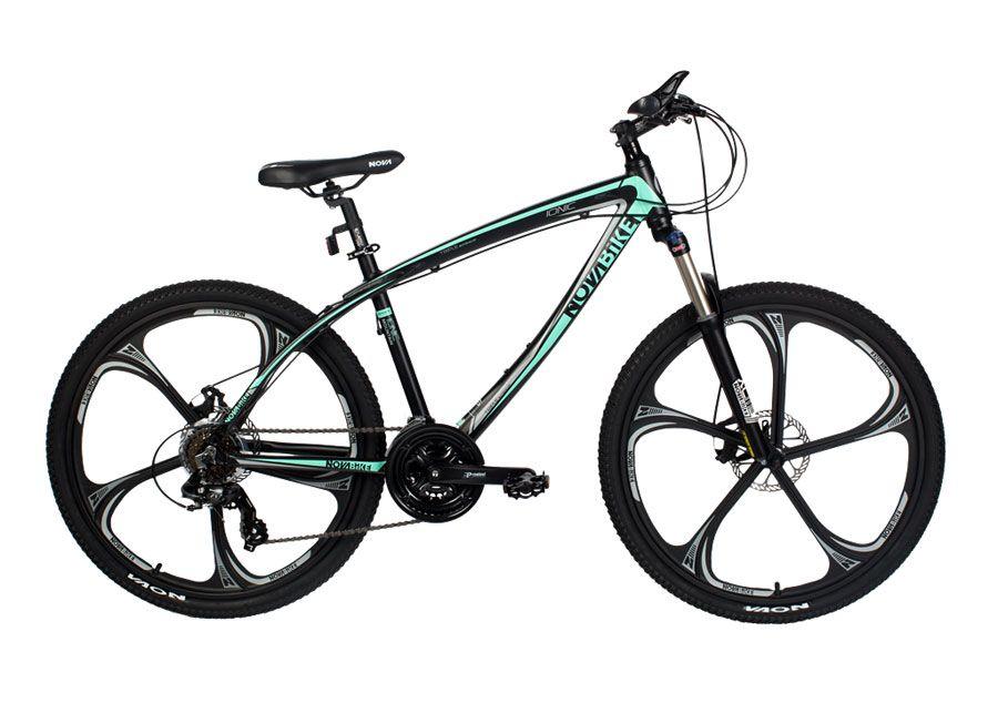 велосипед с литыми дисками