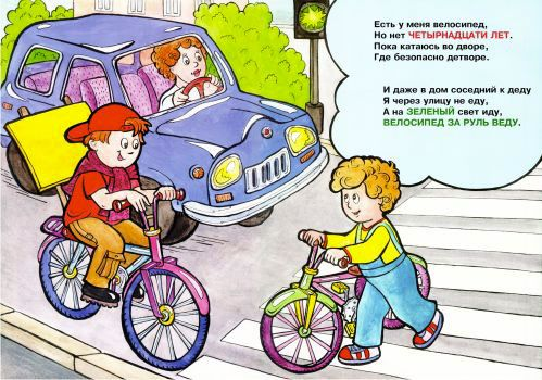 ПДД для велосипеда