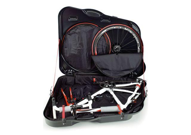 велосипед, упакованный в кейс