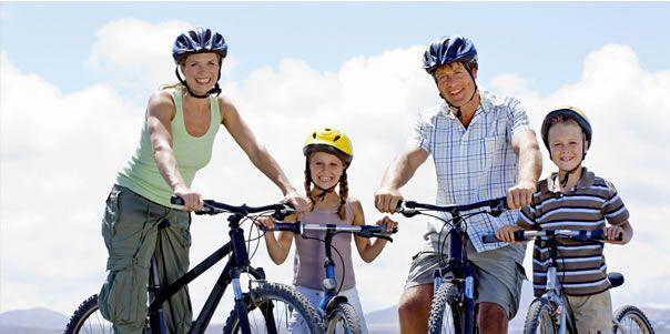 семейная велопрогулка