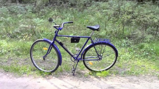 Апгрейд советского велосипеда