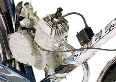 двигатель на велосипеде Stels
