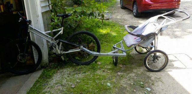 прицепная коляска