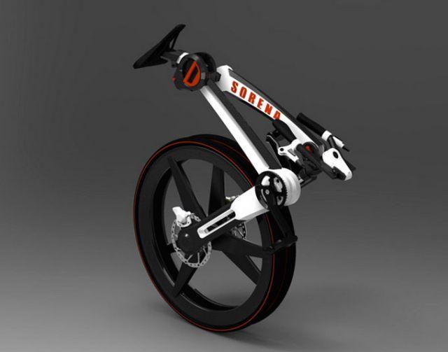 велосипед-складник Sorena