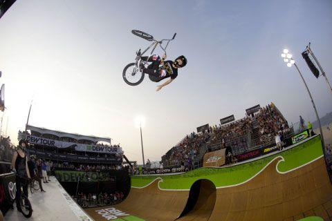 Спорт на BMX