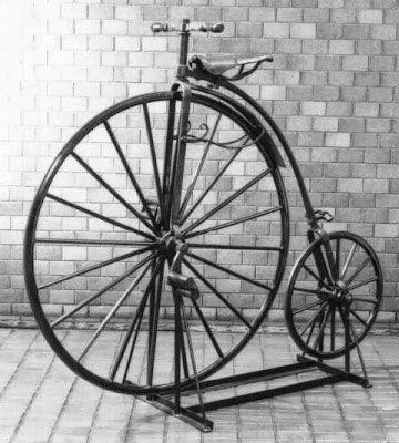 Японский «ординарный» велосипед