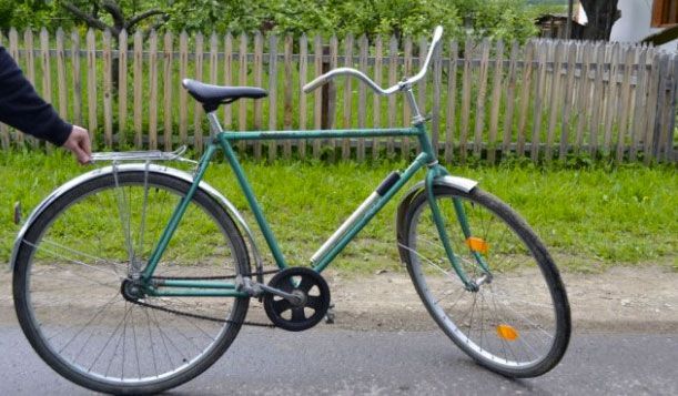 велосипед старого образца