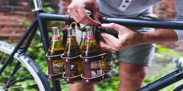 крепление напитков на раму