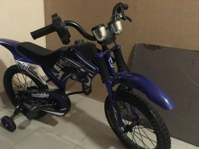 Детский велосипед под мотоцикл