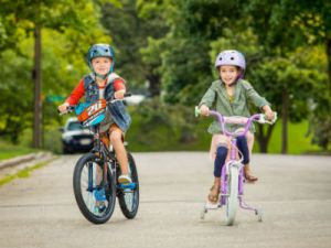 Дети на велосипедах