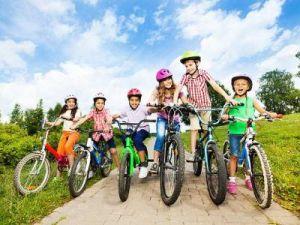 Легкие детские велосипеды