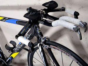 велосипедный руль с лежаком