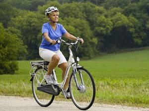 велопрогулка вдоль лесополосы