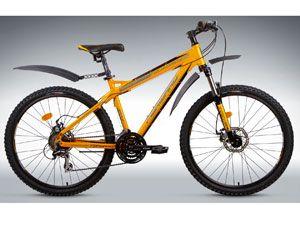 Современный спортивный велосипед