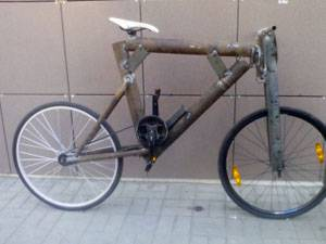 самодельный велосипед