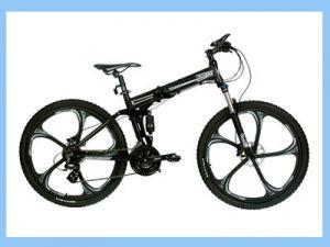 складной велосипед на литых дисках