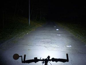 свет на велосипеде