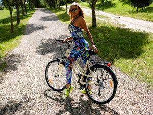 велопрогулка в сквере