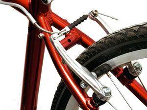 задние тормоза на велосипеде
