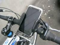 телефон на руле велосипеда