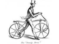 """прототип велосипеда """"Dandy Horse"""""""