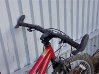 рога на руле велосипеда