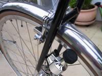 динамка на переднем колесе