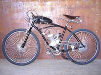 мопед из велосипеда