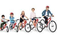 Велосипеды для детей разного роста и возраста