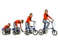 складной женский велосипед