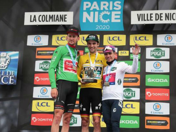 Тиш Беноот и Серхио Игита – призёры гонки Париж-Ницца-2020