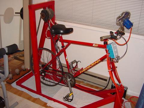 Как сделать в домашних условиях велотренажер